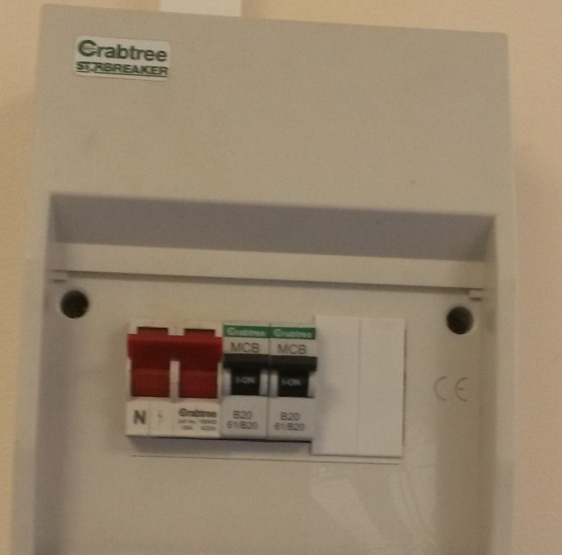 Main switch or fuse box